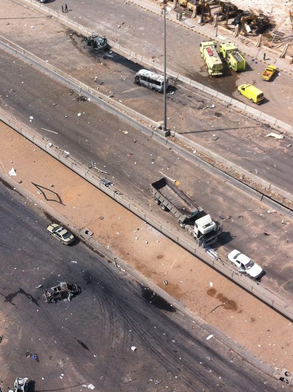 صور انفجار الرياض، تفجر سيارة الغاز 4284.imgcache.jpg