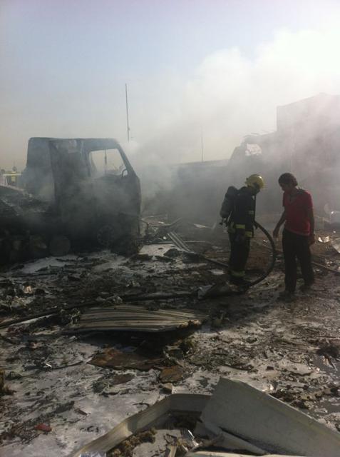 صور انفجار الرياض، تفجر سيارة الغاز 4293.imgcache.png