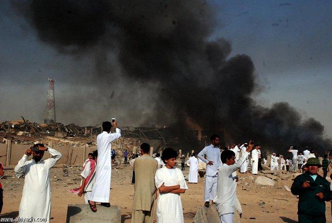 صور انفجار الرياض، تفجر سيارة الغاز 4321.imgcache.jpg