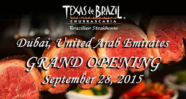 أكبر مطعم للستيك البرازيلي في أمريكا يفتح أبوابه في مول ...