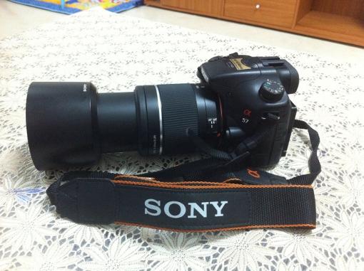 كاميرا سوني a57 للبيع مع عدسة 18-55 و 55-200 شنطه وذاكره 4gb وبوكس الكاميرا ترايبود صغير كتلوج والسيدي 1402_01365356822.jpg
